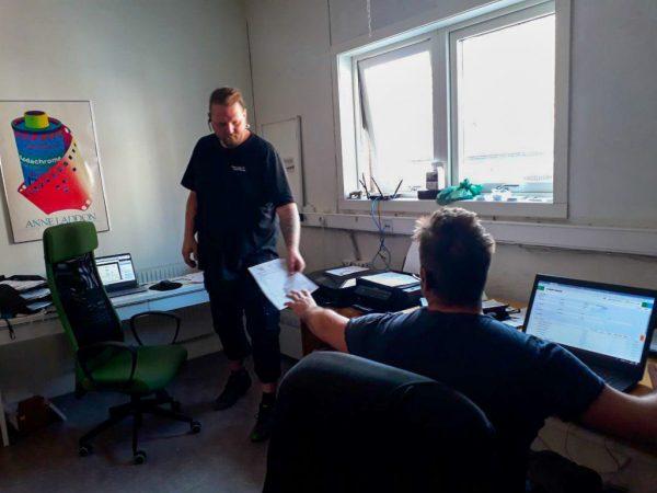 Flyttfirma i Göteborg som ger varandra flytthjälp. Kan kalla det kontorsflytt